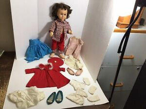 Vintage Chatty Cathy With Clothes - Needs TLC