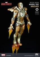 1/12 Comicave Diecast Iron Man MK21 Alloy Solider Figure Set Collectible Toy