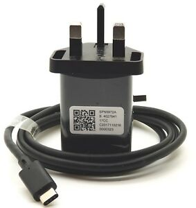 Genuine Motorola Turbo Power 15+ Mains Mobile Charger + Type-C USB Cable