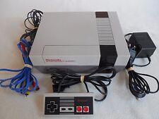 Nintendo Nes Console + Controller / Joy Pad ''inclusive blue AV cable''