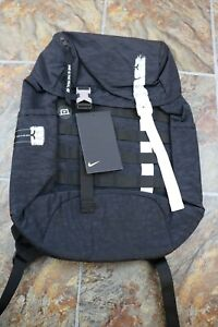 Nike Kevin Durant Basketball Backpack Book Bag Black White CK1925-010 NEW KD 35