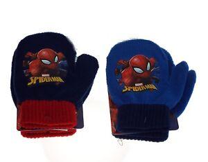1 paire de moufle enfant, Spider-Man,2 coloris aléatoires.