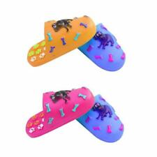 Squeaky Soft Pet Rubber Dog Slipper Training Chew Fetch Play Teething Toy 4265