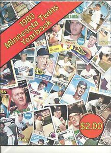 1980 Minnesota Twins MLB Baseball Yearbook J Koosman American League Roy Smalley