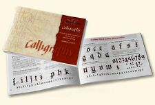 Manuscript Calligraphy Manual / Booklet - A Letter By Letter Introduction