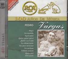Pedro Vargas 100 Anos de Musica 2CD New Nuevo sealed