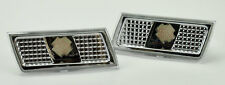 Front Chrome Clear Bumper Side Marker Lights Fits Chrysler 300 300C 2005-2010