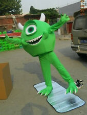 Mike Monster Inc Sully Mascot Costume Xmas Cosplay Disney Cartoon Parade Outfits