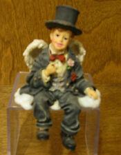 Boyds Wee Folkstones Shelf Sitter #36104 TUXWORTH P. CUMMERBUND...GROOMS ANGEL