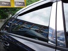 TOYOTA HILUX VIGO CHAMP MK7 05-15 4 DOOR DOUBLE CAB PILLAR PLATE STAINLESS STEEL