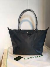 100% Auth Longchamp Le Pliage Neo Large Tote Bag Graphite 1899578897