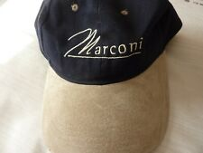 MARCONI Baseball Hat Cap Adjustable