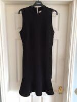 VERO MODA  Ladies Cute Black S/L  Dress - L