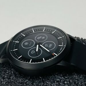 Fossil FTW7010 Hybrid Smartwatch HR Collider Black Silicone