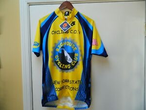 THE BIG HOUSE CYCLING Correction Officer's Jersey XL new with tags
