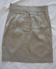Ladies dress business Saba Size 6 pencil skirt pale silvery grey sheen shine VGC
