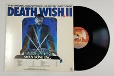 JIMMY PAGE Death Wish II OST LP Swan Song SS 8511 US 1982 VG+ ORIG INNER 4G