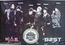"B2ST ""BAND MEMBER'S NAMES"" ASIAN POSTER-Korean Boy Band, K-Pop, Dance, R&B Music"