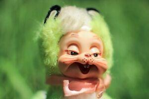 Rare Neon Stinky The Rushton Company Rubber Face Skunk Vintage Stuffed Animal