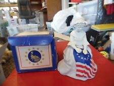 Vintage Avon Betsy Ross Figurine sonnet cologne in box 4 oz