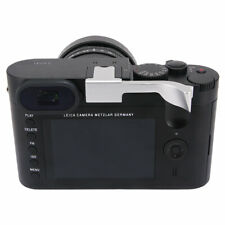 Metal Thumbs Up Grip Hand Grip Designed for Leica Q Q-P QP Typ116 Typ 116 Silver