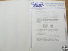 1979 ICESPEEDWAY,HALVE FINALE WK IJS ASSEN 24/25-2-1979,PRESSE INFO NO MAP