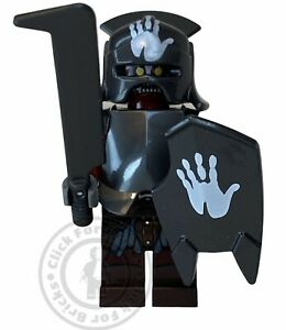 LEGO Lord Of The Rings Uruk Hai Handprint Helmet Shield From 9476 10237 - lor022