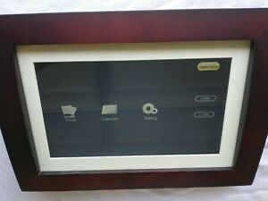 """Sylvania 10"""" Digital Picture Frame 2GB Of Built In Memory open box with Remote"""