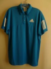 Adidas Clima 365 Mens Size S Short Sleeves Polo Blue Nwot