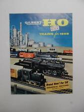 1958 American Flyer Trains A.C. Gilbert Catalog Official Train Vintage Original