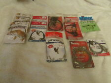 Lot of 12 Packs of New S/S Steel Wire Wound Leaders
