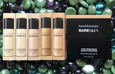 x2 BareMinerals BARE IVORY 04  BareSkin Pure Brightening Serum Foundation .10 oz