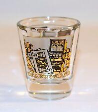 Deadwood, SD  Casino Souvenir Collectible Shooter Shot Glass Thick Glass