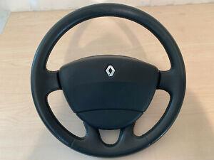 Renault Laguna II Lederlenkrad 8200014856 airbag 8200071201A
