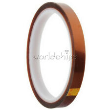 10mm 100ft BGA High Temperature Heat Resistant Polyimide Gold Tape New