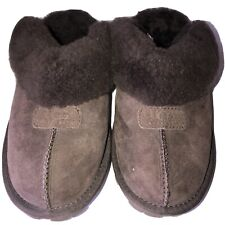Womens Brown Ugg Slipper Shoes Size 7