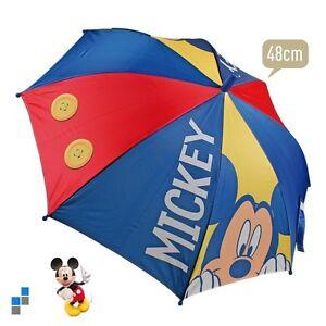 Disney Mickey Mouse Regenschirm Kinder Schirm Sonnenschirm Automatik Neu