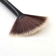 Pinceles de Brocha Fundación Polvo  Cepillo maquillaje Forma ventilador