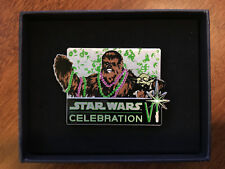 Star Wars Celebration Vi Chewbacca & Yoda Limited Ed. Pin (Item 31)