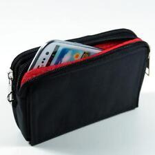 Quer Handy Tasche Gürteltasche Portemonnaie für Apple iPhone X