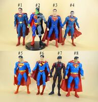 "DC Direct Comics Collection superman superboy action figure 6"" loose"
