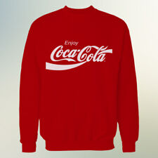 Coca Cola Sweatshirt Red Official Promotional Top From Coca Cola UK Size XL