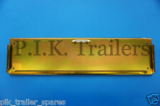 Oblong Metal Number Plate Holder for Trailers, Horse Box, Tractor, Lorry