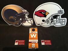 Arizona Cardinals v Los Angeles Rams 12/1 Orange W West Lot Parking Pass Tickets