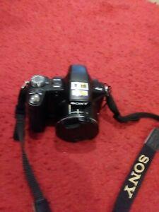 Sony Cybershot DSC-H50 9.1 MP Digital Camera - Black