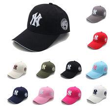 Casquette de Baseball Unisexe Réglable Hip Hop Chapeau de Soleil Visière Incurvé