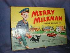 1955 Little used Hasbro Merry Milkman Board Game