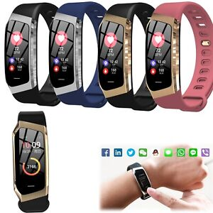 Fitness Tracker Sports Bracelet Phone Mate for IOS Android Samsung iPhone XR XS
