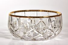 -INTERGLASS 1P CRAZY BOWL GOLD HAND MADE IN FLORENCE ITALY