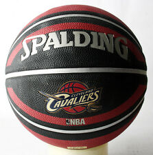 Rare 2010 Nba Spalding Cleveland Cavaliers Outdoor Basketball Ball Size 7 New !